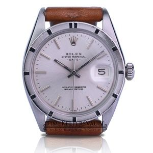 Rolex Oyster Perpetual Date Silver Dial 34mm